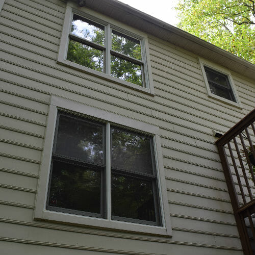 Columbia home side windows before