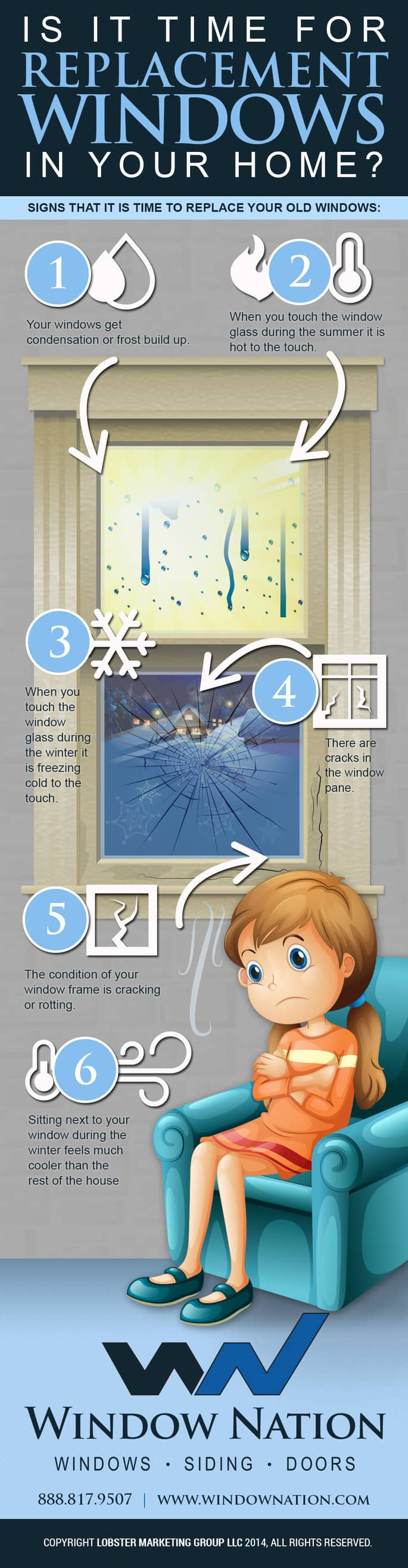 signs you need replacement windows