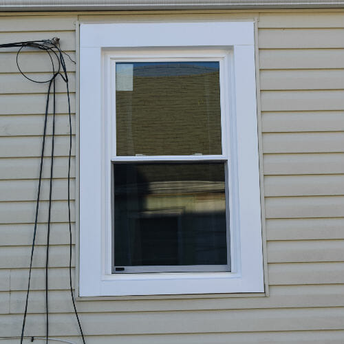 Baltimore home window after replacement