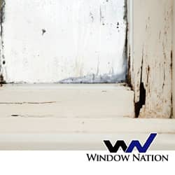 image of deteriorating window