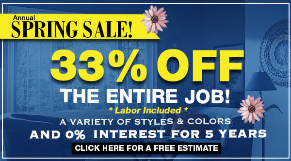 This April, Window Nation is offering 33% off the entire job!
